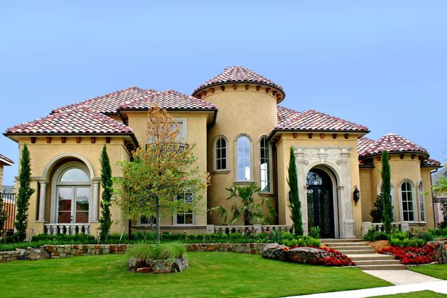 Mediterranean style custom home builder avida custom for Mediterranean home builders